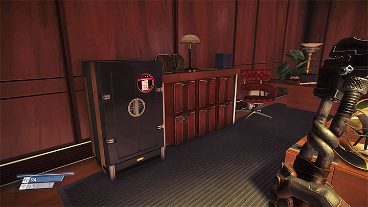 The security office can be access by walking over the yellow tube and using the small shaft or using a keycard on the reader by the door - How to open the safe in the Security Station in Talos I Lobby? - FAQ � Frequently Asked Questions - Prey Game Guide