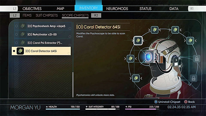 The mentioned Coral Detector 64Si can be picked up from the desk (there are also a few neuromods nearby) - Before I Give You the Key | Main Story - Main Story - Walkthrough - Prey Game Guide
