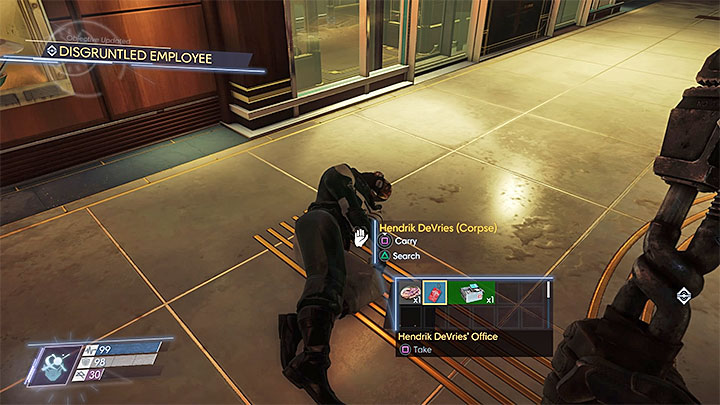 This side mission can be unlocked once youve managed to unlock the main elevator and took care of Typhoon Telepath on level four of Talos I Lobby - Talos I Lobby | Side Quests - Side Quests - Prey Game Guide