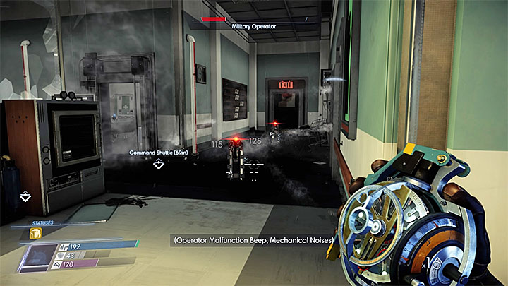 Defeat the ambush inside the Trauma Center - Talos I Lobby | Side Quests - Side Quests - Prey Game Guide