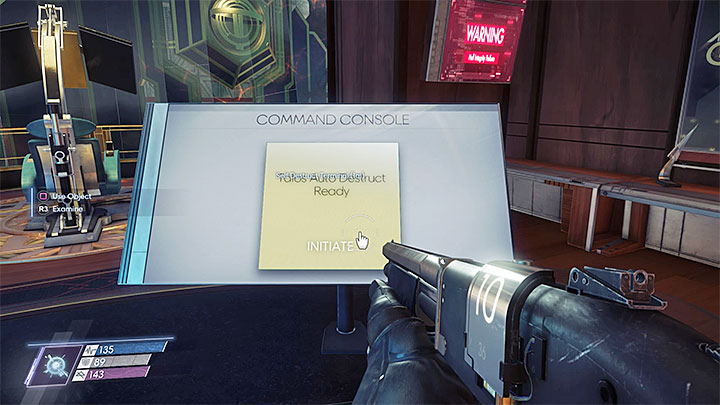 You now have to use the command console found on Talos I Bridge - Perdition | Main Story - Main Story - Walkthrough - Prey Game Guide