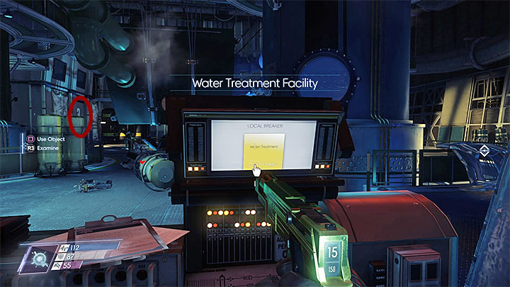 The third digit is found in Water Treatment Facility in Life Support - Treasure Hunt | Side Quests - Side Quests - Prey Game Guide