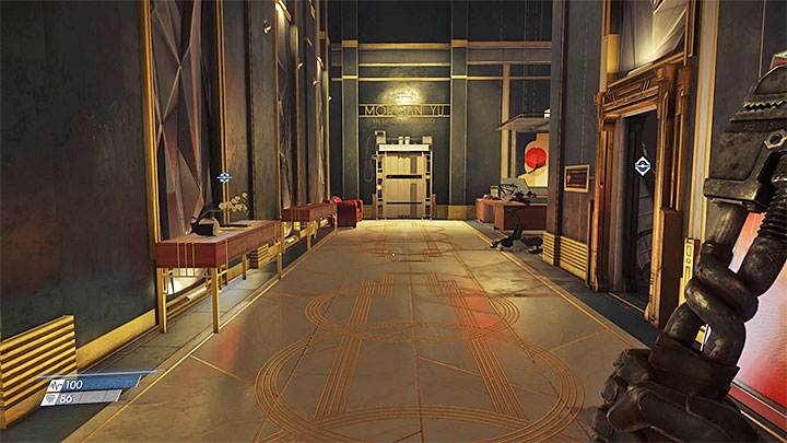 The corridor leading to the protagonists office. - An Office With a View | Main Story - Main Story - Walkthrough - Prey Game Guide