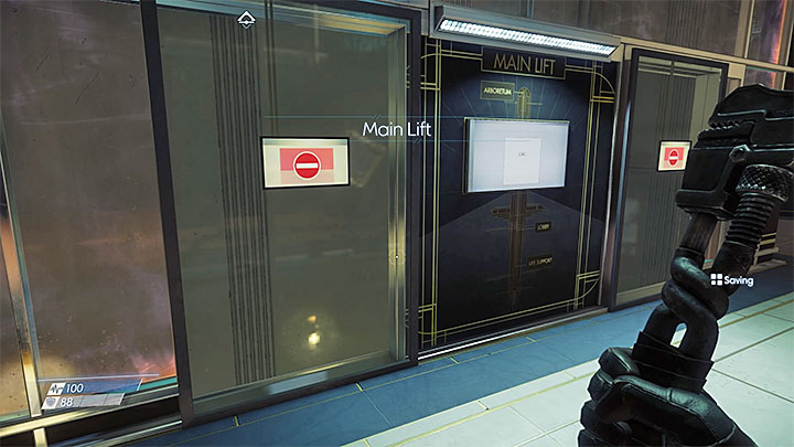 You cannot use the elevator during the initial stages of the game - Detour | Main Story - Main Story - Walkthrough - Prey Game Guide