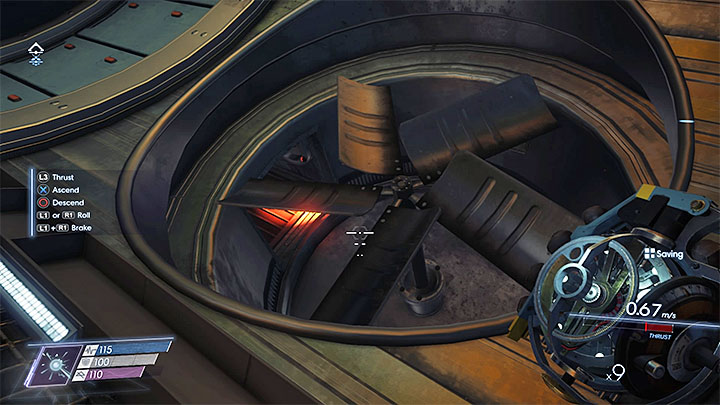 Continue flying until you reach the closed airlock - Detour | Main Story - Main Story - Walkthrough - Prey Game Guide