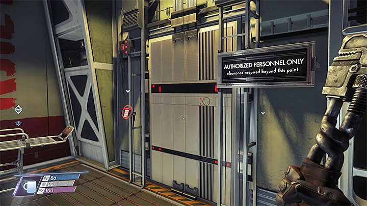 Armory can be found in the eastern part of level two of Psychotronics, next to the Extraction Lab - How to access the Armory in Psychotronics? | FAQ - FAQ � Frequently Asked Questions - Prey Game Guide