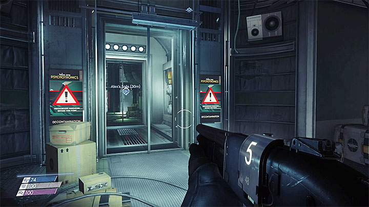 The decontamination room forces you to wear a Psychoscope before you can proceed further - Typhoon Powers | Chartacter development - Character development - Prey Game Guide