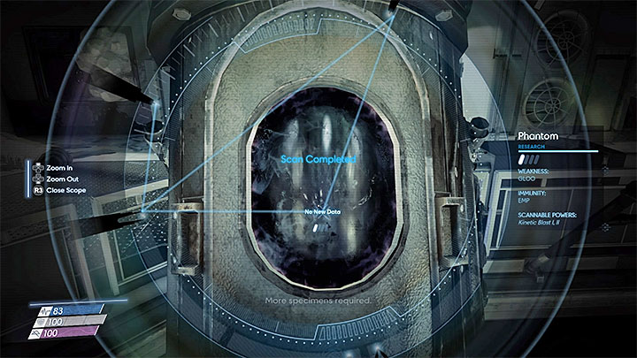 Youll perform your first scan in the Aritium - Typhoon Powers | Chartacter development - Character development - Prey Game Guide