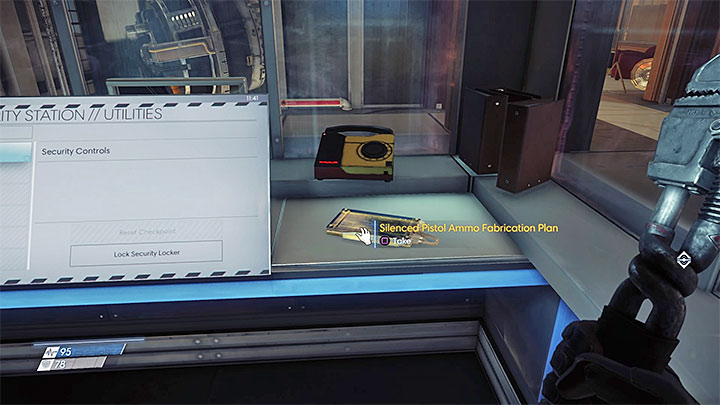 The plan is inside of the security station near the Hardware Labs Foyer - Plans - Secrets and important items - Prey Game Guide