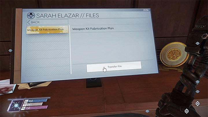 This plan can be found in Sara Elazars Cabin in Crew Quarters A - Plans - Secrets and important items - Prey Game Guide