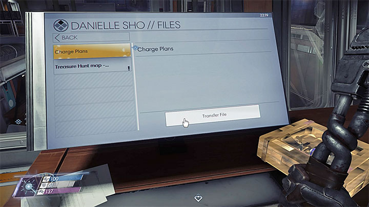 The fabrication plan can be downloaded from Danielle Shos computer which is located in the Command Center on level 2 - Plans - Secrets and important items - Prey Game Guide