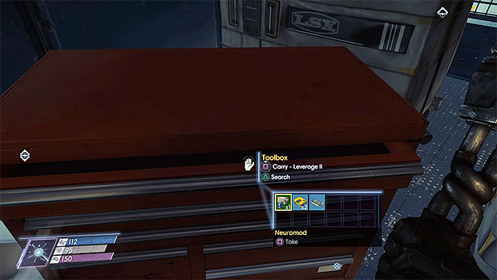 The fabrication plan is in one of the side cages in the Shipping and Receiving section - Plans - Secrets and important items - Prey Game Guide