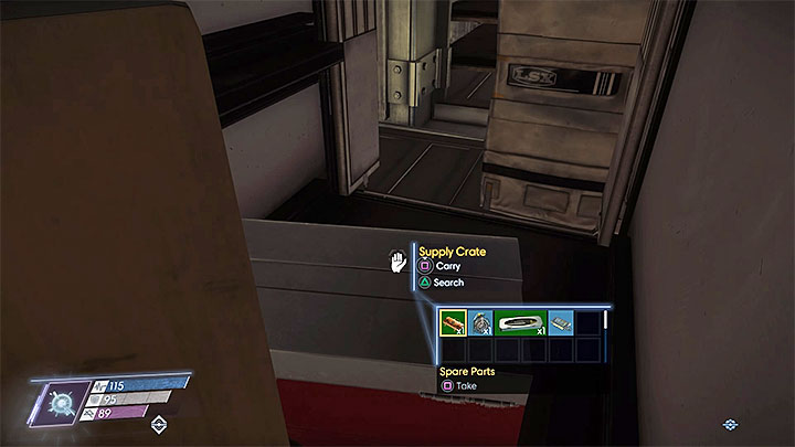 The fabrication plan is in one of the closed containers in Cargo Bay B - Plans - Secrets and important items - Prey Game Guide