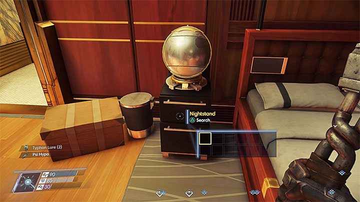 When you get to the Executive Suits on level 3 you must go to Alex Yus Apartment (its number is 303) and use the keycard that you found earlier in the safe - Who is December? | Side Quests - Side Quests - Prey Game Guide