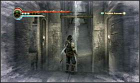 Use the wall and go round the room - Walkthrough - The Sewer - Walkthrough - Prince of Persia: The Forgotten Sands - Game Guide and Walkthrough