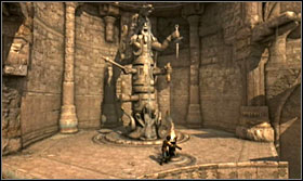 You can get to the last totem using the waterspouts - Walkthrough - Solomons Tomb - Walkthrough - Prince of Persia: The Forgotten Sands - Game Guide and Walkthrough