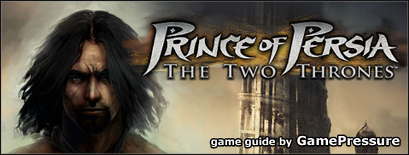Prince of Persia: The Two Thrones is the last part of the new UbiSofts trilogy, dealing with the Persian princes adventures - Prince of Persia: The Two Thrones - Game Guide and Walkthrough