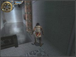 You encounter the next cavity and the trap similar to previous - The Palace - Walkthrough - Prince of Persia: The Two Thrones - Game Guide and Walkthrough