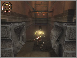 Behind the bend turn left and immediately right - The Arena Tunnel - Walkthrough - Prince of Persia: The Two Thrones - Game Guide and Walkthrough