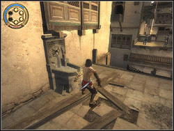 Look around - The Arena Tunnel - Walkthrough - Prince of Persia: The Two Thrones - Game Guide and Walkthrough