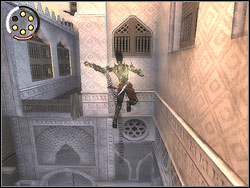 You feel that your dark nature is getting the upper hand and you are turning into the Dark Prince - The Bowery - Walkthrough - Prince of Persia: The Two Thrones - Game Guide and Walkthrough