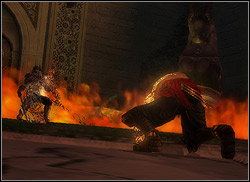 Brothers always attack you from two sides and therefore mobility should be your main arms - The King's Road - Walkthrough - Prince of Persia: The Two Thrones - Game Guide and Walkthrough