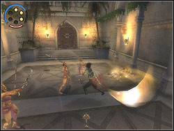 You will be divided from Farah accidentally - The King's Road - Walkthrough - Prince of Persia: The Two Thrones - Game Guide and Walkthrough