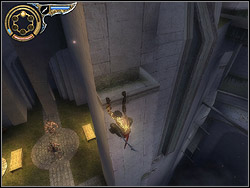 Come up to the Sand Gate after the fight and stick the dagger into it - you will receive the fourth Power of Sands of Time - Storm Sand - The Hanging Gardens - Walkthrough - Prince of Persia: The Two Thrones - Game Guide and Walkthrough