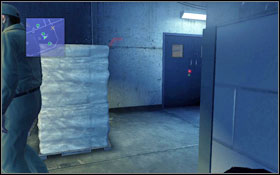 In the warehouse you will come across one guard - go around the bags in the middle, next to the column, from the left #1 - Walkthrough - Chapter 2 - Walkthrough - Prison Break: The Conspiracy - Game Guide and Walkthrough