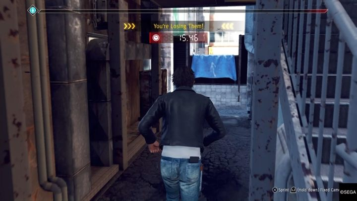 Description: Go to the specified location and then target Hiyama - Kamurocho Streets | Judgment side cases walkthrough - Side cases - Judgment Guide