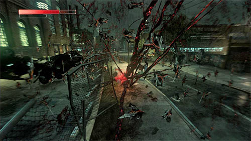 You can try to attack Gallagher with weapons taken from local opponents or for example special, Devastator attack (screen above) - [Main mission 16] The White Light - Main missions - Prototype 2 - Game Guide and Walkthrough