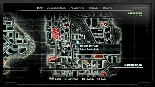 In order to start this mission, you have to get to location [773, 1364], specifically to the shiny circle on the ground - [Main mission 19] A Maze of Blood - Main missions - Prototype 2 - Game Guide and Walkthrough