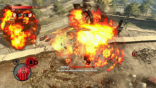Another interesting option is to use the Devastator attacks, especially that thanks to soldier running around the area, you can easily regenerate bio-mass bar - [Main mission 19] A Maze of Blood - Main missions - Prototype 2 - Game Guide and Walkthrough