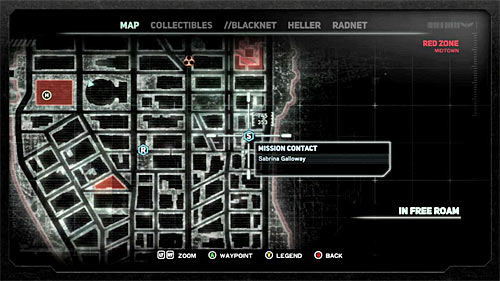 In order to start this mission, you have to get to location [745, 353], specifically to the shiny circle on the ground near the parking lot - [Main mission 26] Fly in the Ointment - Main missions - Prototype 2 - Game Guide and Walkthrough