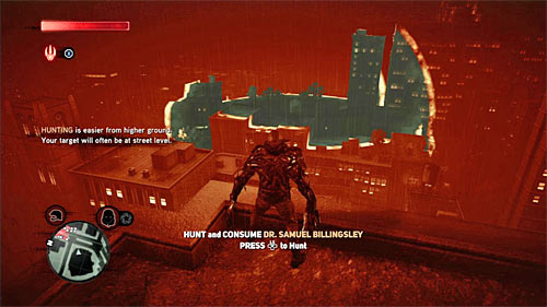As you probably remember from the last mission, it is best to start the hunt with getting to the rooftop of one of the highest buildings in the area - [Blacknet mission 1] Operation: Orion's Belt - Blacknet missions - Prototype 2 - Game Guide and Walkthrough