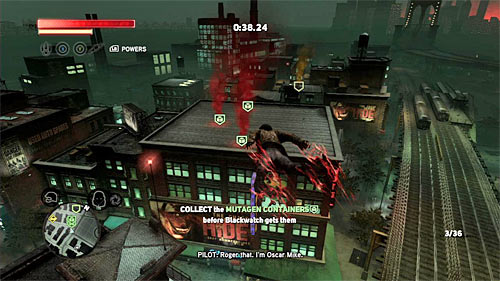 During this race, focus on safely reaching the adjacent buildings - [Blacknet mission 5] Operation: Keyhole - Blacknet missions - Prototype 2 - Game Guide and Walkthrough