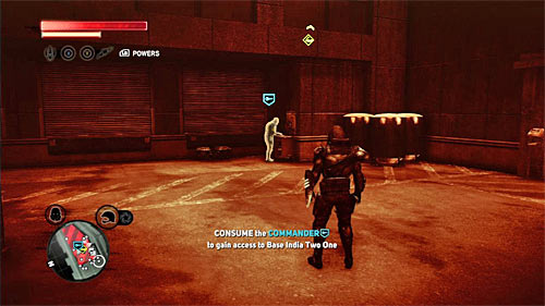 You have to reach a base in location [910, 1267] - [Blacknet mission 5] Operation: Keyhole - Blacknet missions - Prototype 2 - Game Guide and Walkthrough