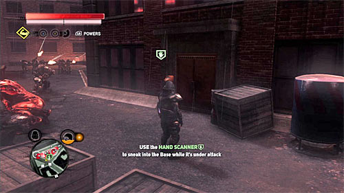 Go to location [515, 435] and since you have to get inside the military base, make sure to disguise as a soldier or a scientist - [Blacknet mission 10] Operation: Long Horizon - Blacknet missions - Prototype 2 - Game Guide and Walkthrough