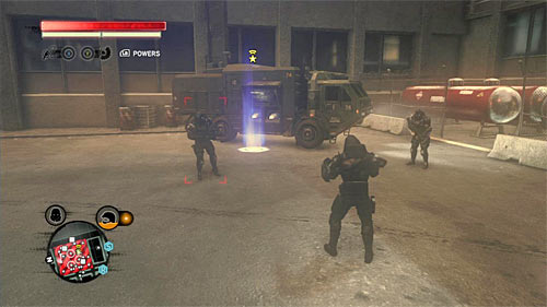 Once again go to location [761, 226] - [Blacknet mission 12] Operation: Clockwork - p. 2 - Blacknet missions - Prototype 2 - Game Guide and Walkthrough