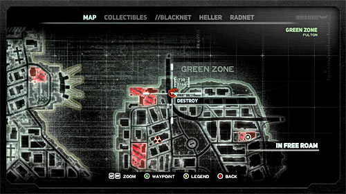 Yellow Zone Field Ops Prototype Map Of All On on