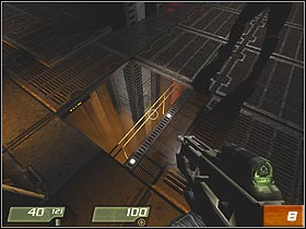 Try to remember that Anderson can heal you, if necessary - Air Defense Bunker - Walkthrough - Quake 4 - Game Guide and Walkthrough
