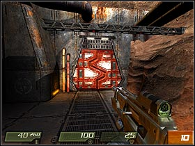Move straight ahead and eliminate next opponents - Air Defense Bunker - Walkthrough - Quake 4 - Game Guide and Walkthrough