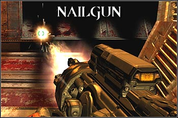 The strongest weapon from all machine guns - Weapons - Quake 4 - Game Guide and Walkthrough