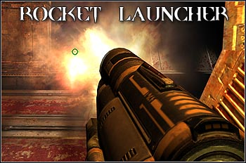 Classic rocket launcher with the highest damage from all conventional weapons (excluding Dark Matter Gun) - Weapons - Quake 4 - Game Guide and Walkthrough