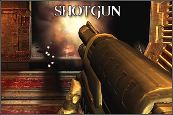 Deadly in short range combat, completely useless in fighting from the distance - these are features related to every shotgun, including the one from Quake 4 - Weapons - Quake 4 - Game Guide and Walkthrough