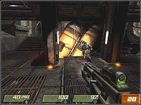 3 - Interior Hangar - Walkthrough - Quake 4 - Game Guide and Walkthrough