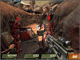 MCC Landing Site   Walkthrough - Quake 4 Game Guide