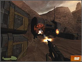 Now, Kane will find himself alone on the battlefield - Canyon - Walkthrough - Quake 4 - Game Guide and Walkthrough