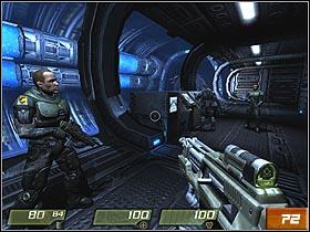 Nexus Hub Tunnels | Walkthrough - Quake 4 Game Guide & Walkthrough