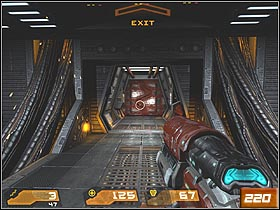 At the end of the route, youll see the ladder - Nexus Core - Walkthrough - Quake 4 - Game Guide and Walkthrough